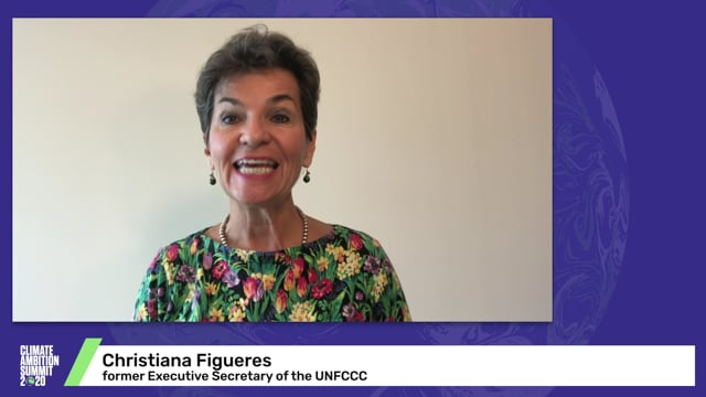 Christiana Figueres<br>Former Executive Secretary of the UNFCCC