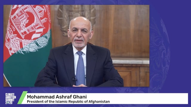 Mohammad Ashraf Ghani<br>President of the Islamic Republic of Afghanistan