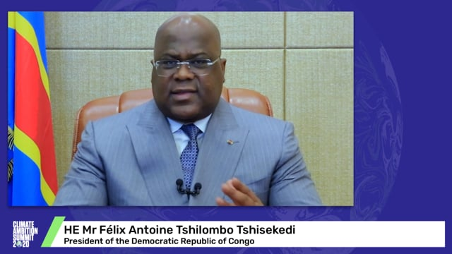 HE Mr Félix Antoine Tshilombo Tshisekedi<br>President of the Democratic Republic of Congo