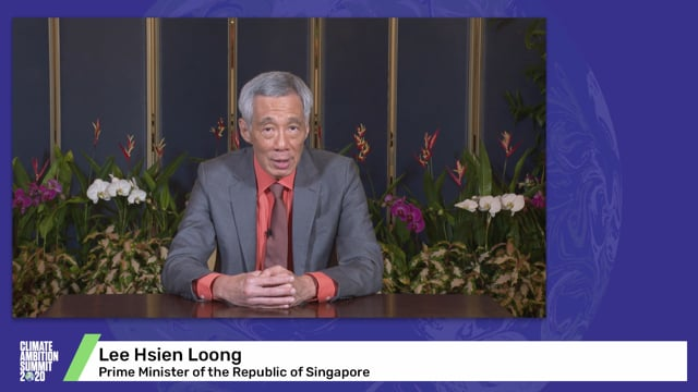 Lee Hsien Loong<br>Prime Minister of the Republic of Singapore