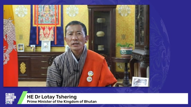 HE Dr Lotay Tshering<br>Prime Minister of the Kingdom of Bhutan