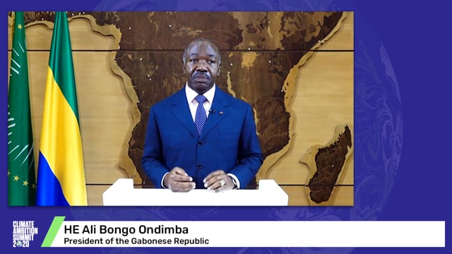 HE Ali Bongo Ondimba<br>President of the Gabonese Republic