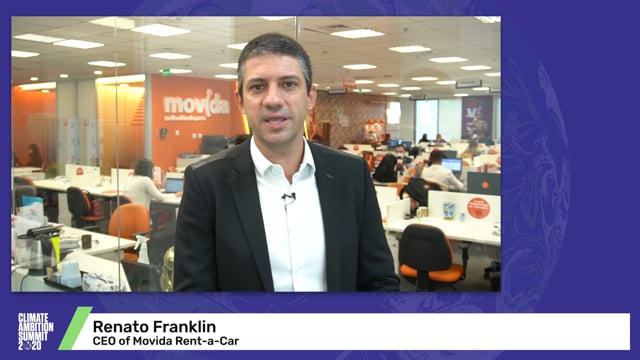 Renato Franklin<br>CEO of Movida Rent-a-Car