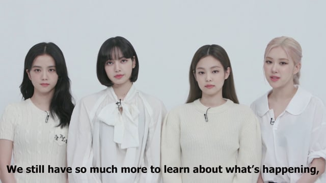 Blackpink's Call to Action