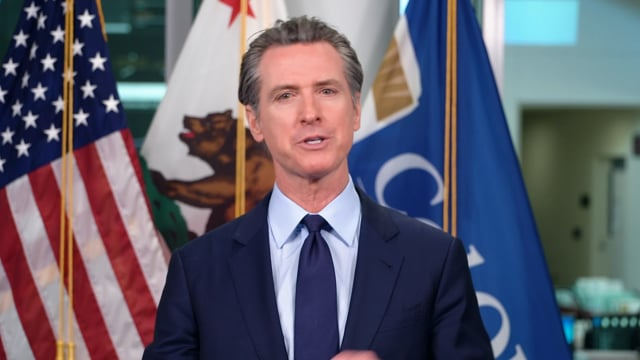 Gavin Newsom<br>Governor of California