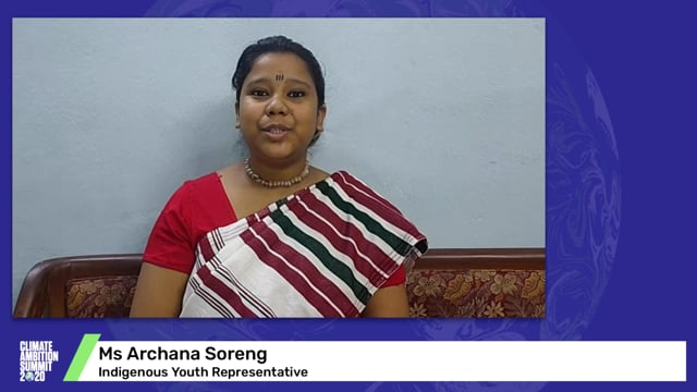 Ms Archana Soreng<br>Indigenous Youth Representative