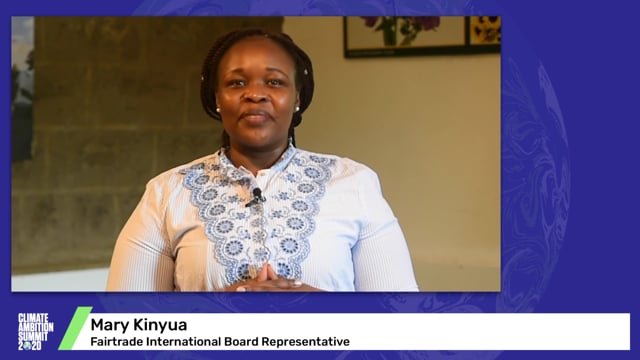 Mary Kinyua<br>Fairtrade International Board Representative