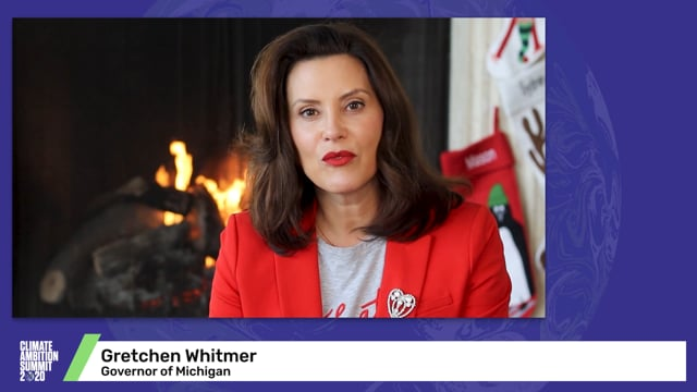 Gretchen Whitmer<br>Governor of Michigan