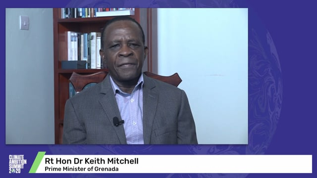 Rt Hon Dr Keith Mitchell<br>Prime Minister of Grenada