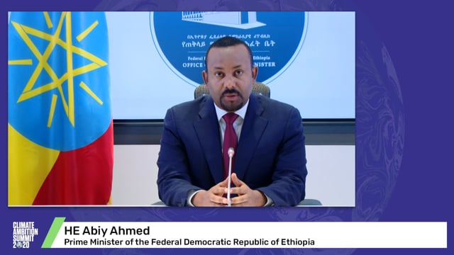 HE Abiy Ahmed<br>Prime Minister of the Federal Democratic Republic of Ethiopia